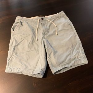 Abercrombie & Fitch light blue shorts